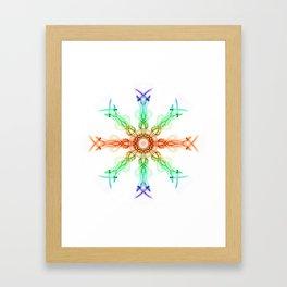 Smoke Wheel 2 Framed Art Print