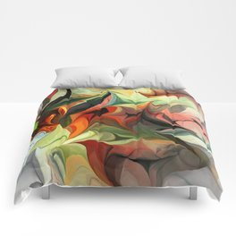 Abstract 040212 Comforters