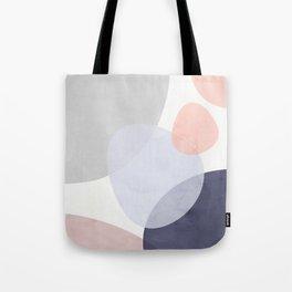 Pastel Shapes III Tote Bag