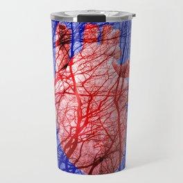 Heart with vessels Travel Mug