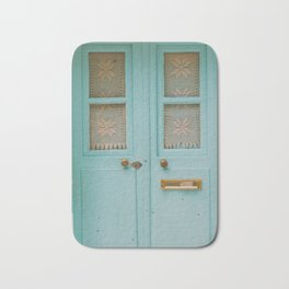 Mint Door Bath Mat