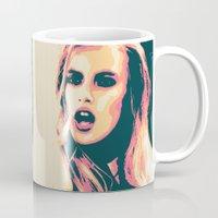 bitch Mugs featuring Bubblegum Bitch by victorygarlic