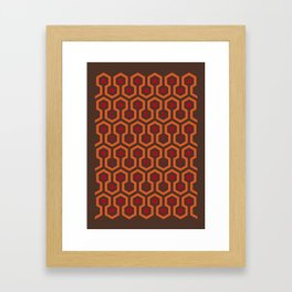 Rug Pattern Framed Art Print