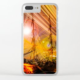 Romance of sailing Clear iPhone Case