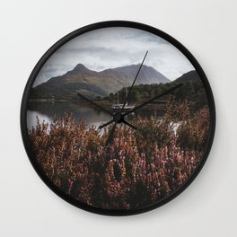 Calm day - Landscape and Nature Photography Wall Clock