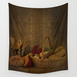 Autumn Harvest Wall Tapestry