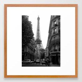 Around the Corner - Paris Framed Art Print