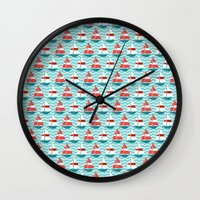 boat Wall Clocks featuring Boat by Valendji
