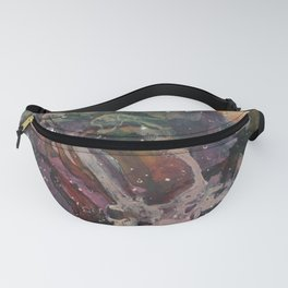 Paint splatter abstract Fanny Pack