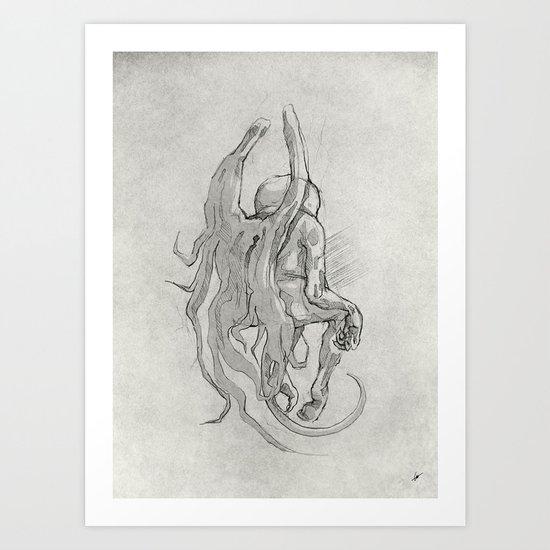Soul II. Art Print