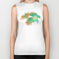 budi Biker Tanks featuring Leap of Faith by Picomodi