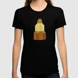 Postales Botellita de leche - Cohete T-shirt