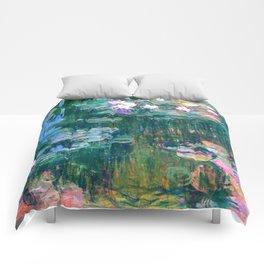 water lilies : Monet Comforters