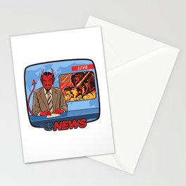 BREAKING NEWS Stationery Cards