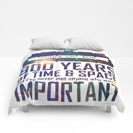 900 Years of Time and Space Comforters