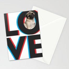 Love dog Stationery Cards