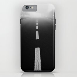 Road to nowhere iPhone Case