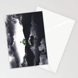 The Landing A Zebes Surrealism Stationery Cards