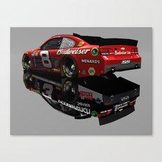 Dale Earnhardt Sr. and Jr. #NASCAR Throwback Canvas Print