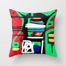 July Throw Pillow
