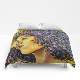 Golden Goddess Comforters