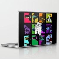 grand theft auto Laptop & iPad Skins featuring Grand Theft Diamond Snatchers by Ant Atomic