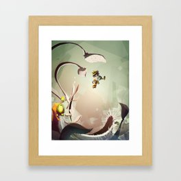 Ratchet and Clank X Spaceman Spiff Framed Art Print