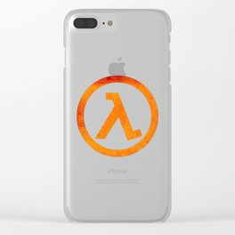 Half Life Rust Clear iPhone Case