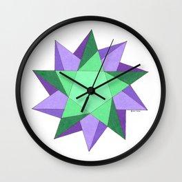 Healing in Motion Wall Clock