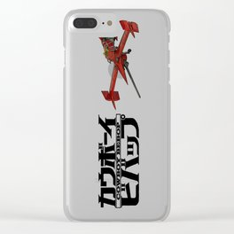 Cowboy Bebop - Ship & Logo Clear iPhone Case