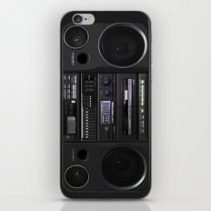 Boombox iPhone4 case (follow link below for iPhone5) iPhone & iPod Skin
