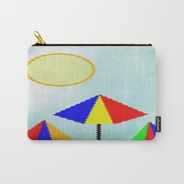 Sunny Days At The Beach Carry-All Pouch