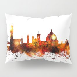 Florence Italy Skyline Pillow Sham