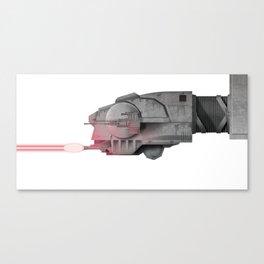 AT-AT Attack! Canvas Print