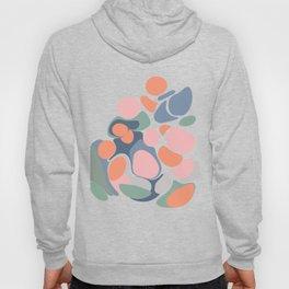 Abstract Shape Flower Art Hoody
