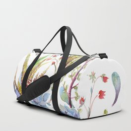 A Succulent Mixture Botanical Design Duffle Bag