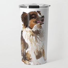watercolor dog vol 6 bernese mountain dog Travel Mug
