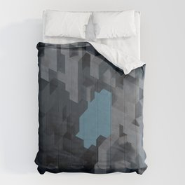 Abstract Concrete II Comforters