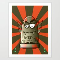 fault Art Prints featuring Fault 45 01 (its not his fault) by Face Leakage