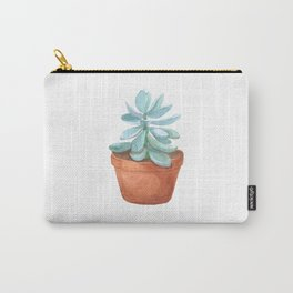 Succulent in the pot Carry-All Pouch