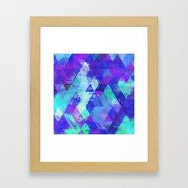 bluetri Framed Art Print