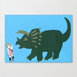 Hello Mary Catherine Canvas Print