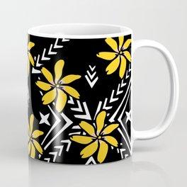 Yellow Tiare Coffee Mug