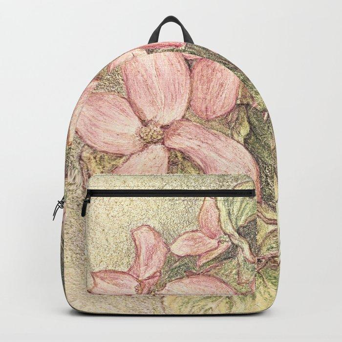 Satomi Dogwood, Pencil Sketch II Backpack