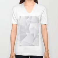 triangles V-neck T-shirts featuring Triangles by By Nordic