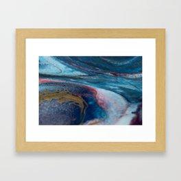 Irresoluto Oceano Framed Art Print