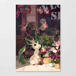 Leafeon Canvas Print