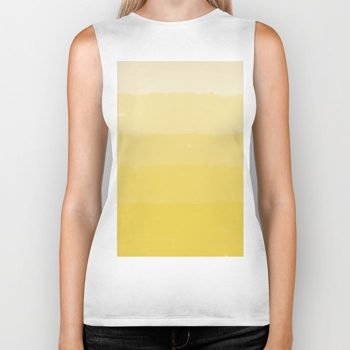 Five Shades of Watercolor Sand Biker Tank