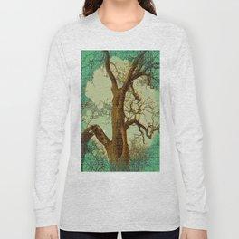 Spirit of the Wind; Green. Long Sleeve T-shirt