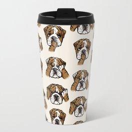 No Evil English Bulldog Travel Mug